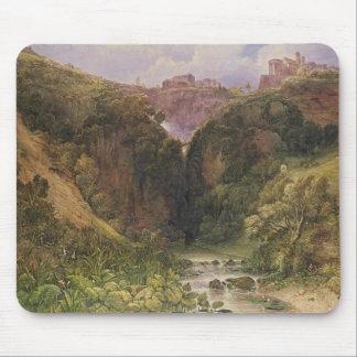 The Falls of Tivoli Mouse Pad