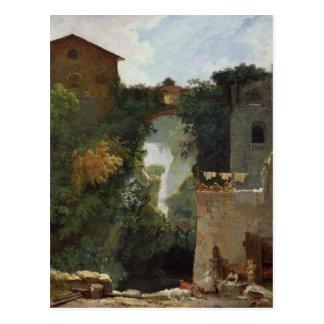 The Falls of Tivoli Postcard