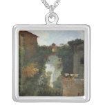 The Falls of Tivoli Square Pendant Necklace