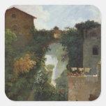 The Falls of Tivoli Square Sticker