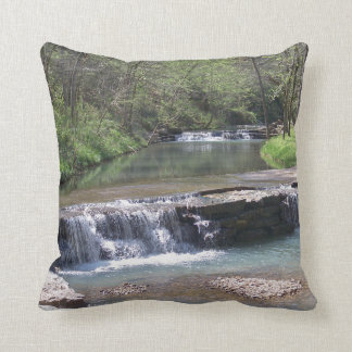 """The Falls Polyester Throw Pillow 16"""" x 16"""""""