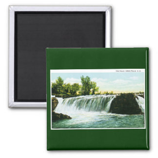 The Falls, Sioux Falls, South Dakota Fridge Magnets