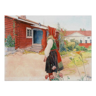 The Falun Home by Carl Larsson Print