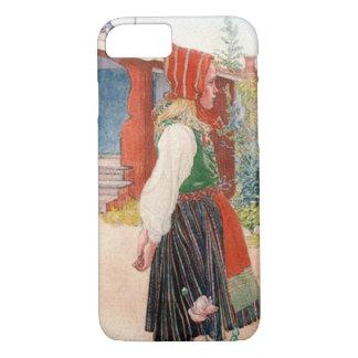 The Falun Home Carl Larsson Swedish Scandinavian iPhone 8/7 Case