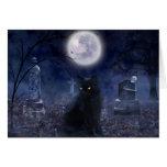 """""""The Familiar"""" Halloween Card"""