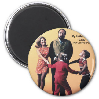The Family Affair Cookbook 2 Inch Round Magnet
