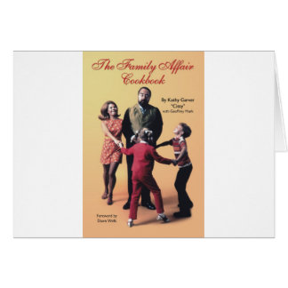 The Family Affair Cookbook Card