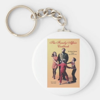 The Family Affair Cookbook Keychain
