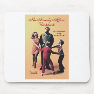 The Family Affair Cookbook Mouse Pad