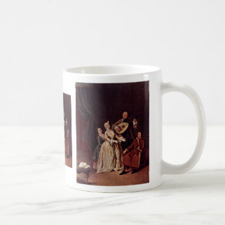 The Family Concert By Longhi Pietro (Best Quality) Mugs