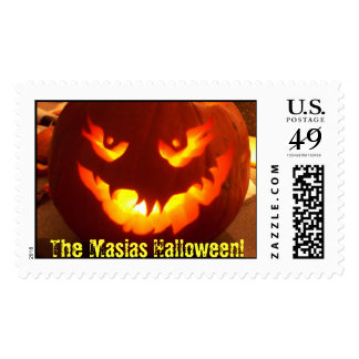 The Family Halloween! Postage Stamp
