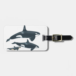 THE FAMILY LOVE LUGGAGE TAG