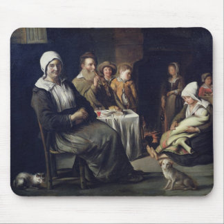 The Family Meal Mouse Pad