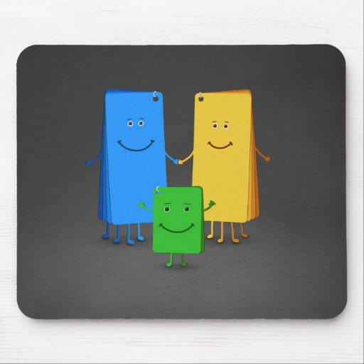 The Family of Colors (2) Mouse Pad
