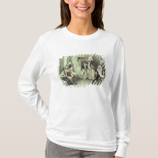 The family of Franz Peter Schubert  playing games T-Shirt