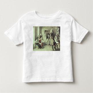 The family of Franz Peter Schubert  playing games Toddler T-shirt