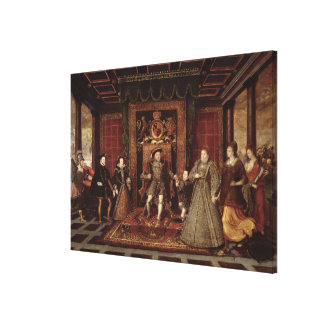 The Family of Henry VIII: Canvas Print