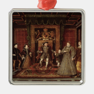 The Family of Henry VIII: Christmas Ornament