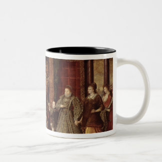 The Family of Henry VIII: Two-Tone Coffee Mug