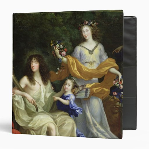 The Family of Louis XIV  1670 Binder