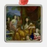 The Family of Louis XIV  1670 Christmas Ornaments
