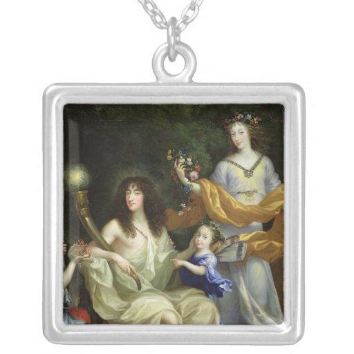 The Family of Louis XIV  1670 Pendant