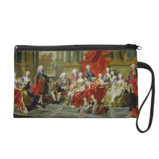 The Family of Philip V, 1743 (oil on canvas) Wristlet Clutch