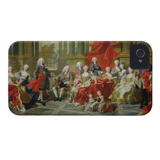 The Family of Philip V, 1743 (oil on canvas) iPhone 4 Case-Mate Case