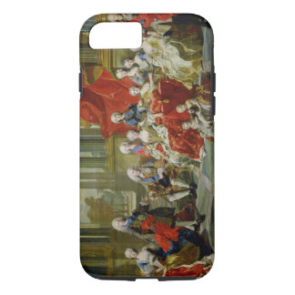 The Family of Philip V, 1743 (oil on canvas) iPhone 8/7 Case