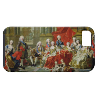 The Family of Philip V, 1743 (oil on canvas) iPhone SE/5/5s Case