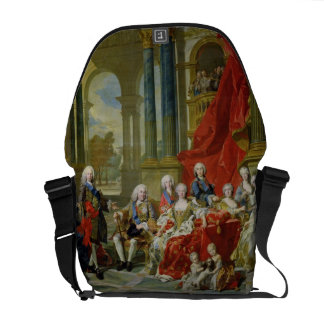 The Family of Philip V, 1743 (oil on canvas) Courier Bag
