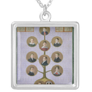 The Family of the Baker, Jochann Silver Plated Necklace