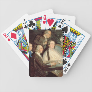 The Family of the Infante Don Luis de Borbon 2 Bicycle Playing Cards