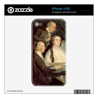 The Family of the Infante Don Luis de Borbon 2 Decal For The iPhone 4