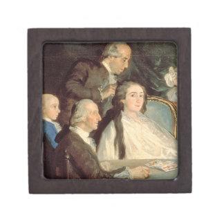 The Family of the Infante Don Luis de Borbon 2 Keepsake Box