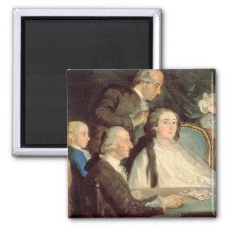 The Family of the Infante Don Luis de Borbon 2 Magnet