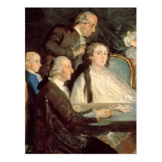 The Family of the Infante Don Luis de Borbon 2 Postcard