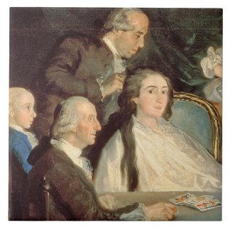 The Family of the Infante Don Luis de Borbon 2 Tile