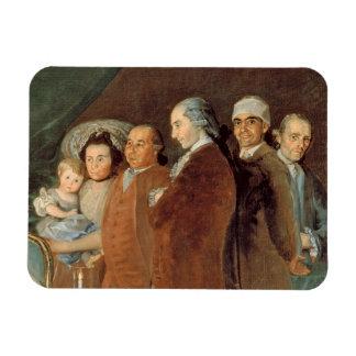 The Family of the Infante Don Luis de Borbon Magnet