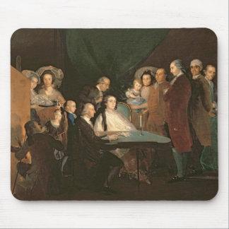 The Family of the Infante Don Luis de Borbon Mouse Pad