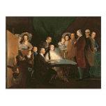 The Family of the Infante Don Luis de Borbon Postcard