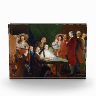 The Family of the Infante Don Luis Francisco Goya Acrylic Award
