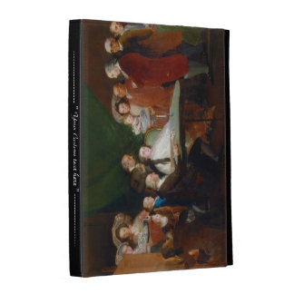 The Family of the Infante Don Luis Francisco Goya iPad Cases