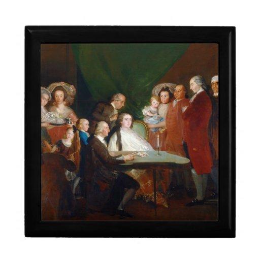The Family of the Infante Don Luis Francisco Goya Keepsake Boxes