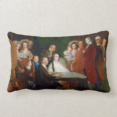The Family of the Infante Don Luis Francisco Goya Pillow