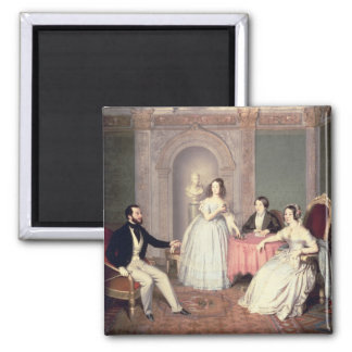 The Family of the Marquis Giuseppe Sigismondo Ala Magnet