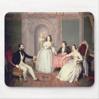 The Family of the Marquis Giuseppe Sigismondo Ala Mouse Pad