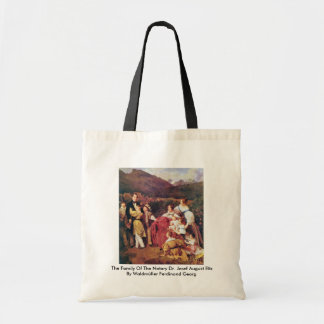 The Family Of The Notary Dr. Josef August Eltz Canvas Bags