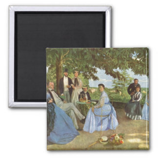 The Family Reunion, Frederick Bazille Magnet