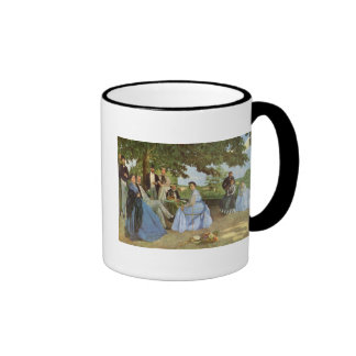 The Family Reunion Frederick Bazille Coffee Mugs